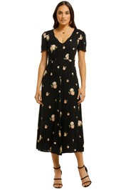 Kate-Sylvester-Summer-Dress-Black-Front