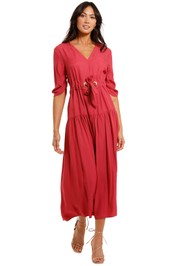 Kate Sylvester Conor Dress Raspberry pink