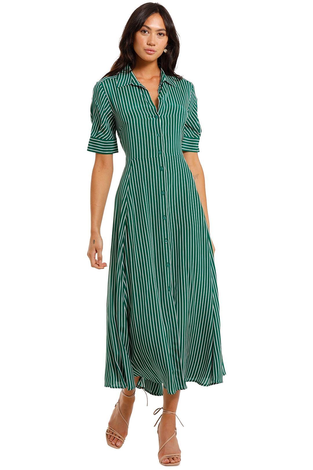 Kate Sylvester Freya Shirtdress Green