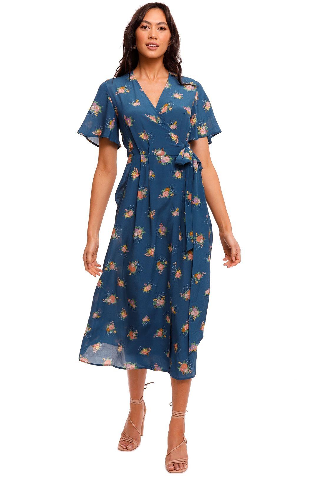 Kate Sylvester Meg Silk Wrap Dress