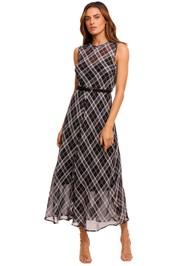 Kate Sylvester Pola Dress check