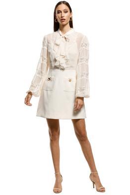 Keepsake-the-Label-Tranquil-LS-Dress-Creme-Front