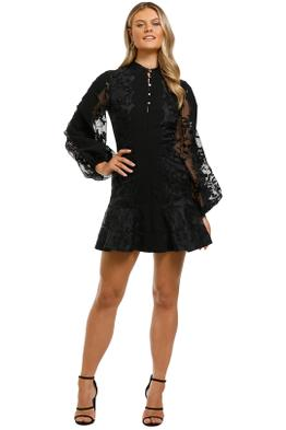 Keepsake-the-Label-Vision-Mini-Dress-Black-Front