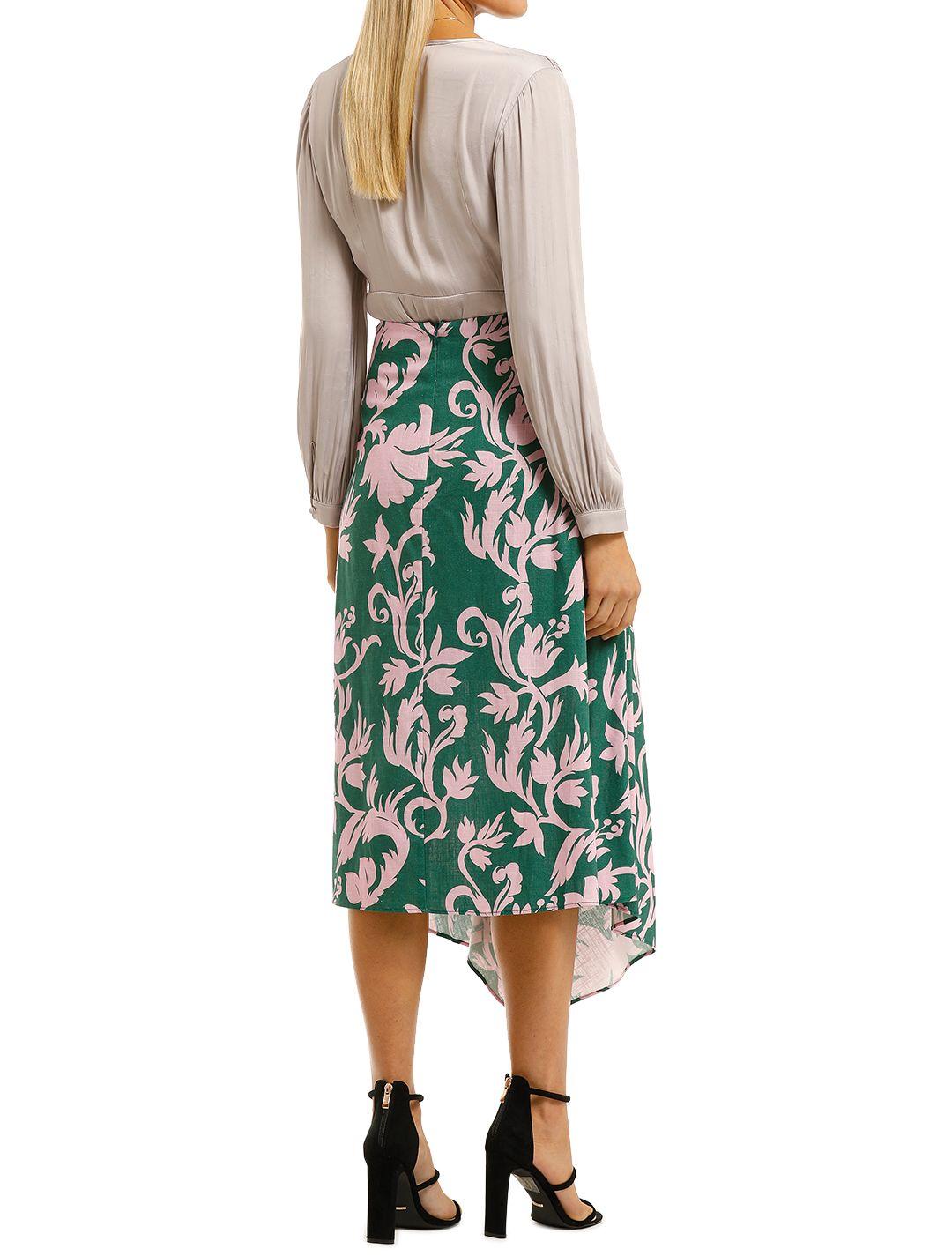 Keepsake-the-Label-Wistful-Skirt-Jade-Baroque-Back