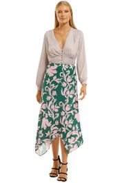 Keepsake-the-Label-Wistful-Skirt-Jade-Baroque-Front