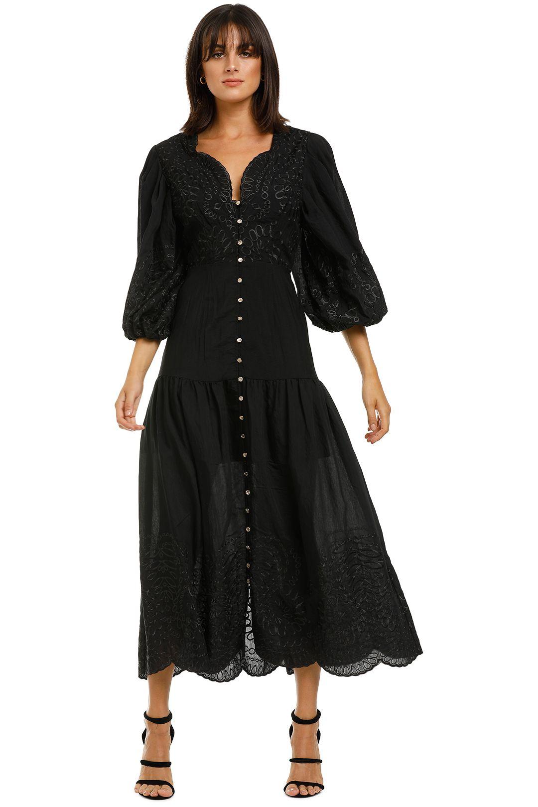 Keepsake-the-Label-Without-Me-Midi-Dress-Black-Front