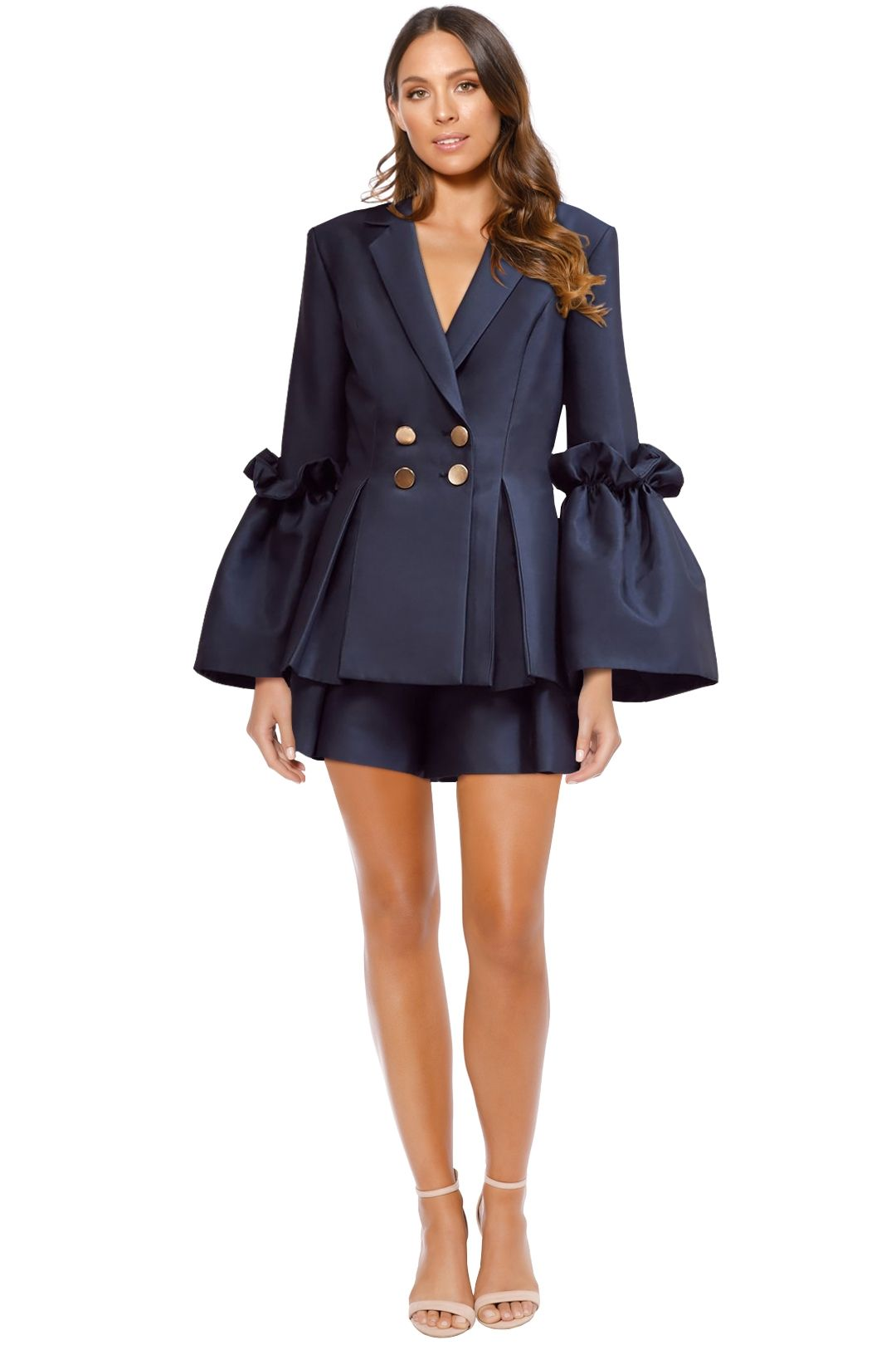 Keepsake the Label - Horizons Blazer - Navy - Front
