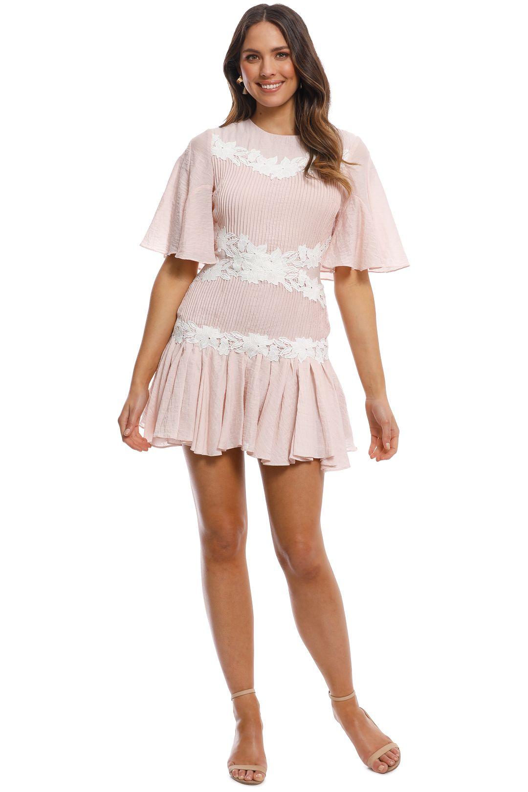 Keepsake - All Mine Mini Dress - Blush - Front