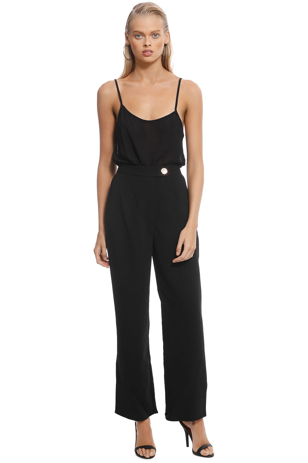 Keepsake The Label - Follower Pant in Black - Front
