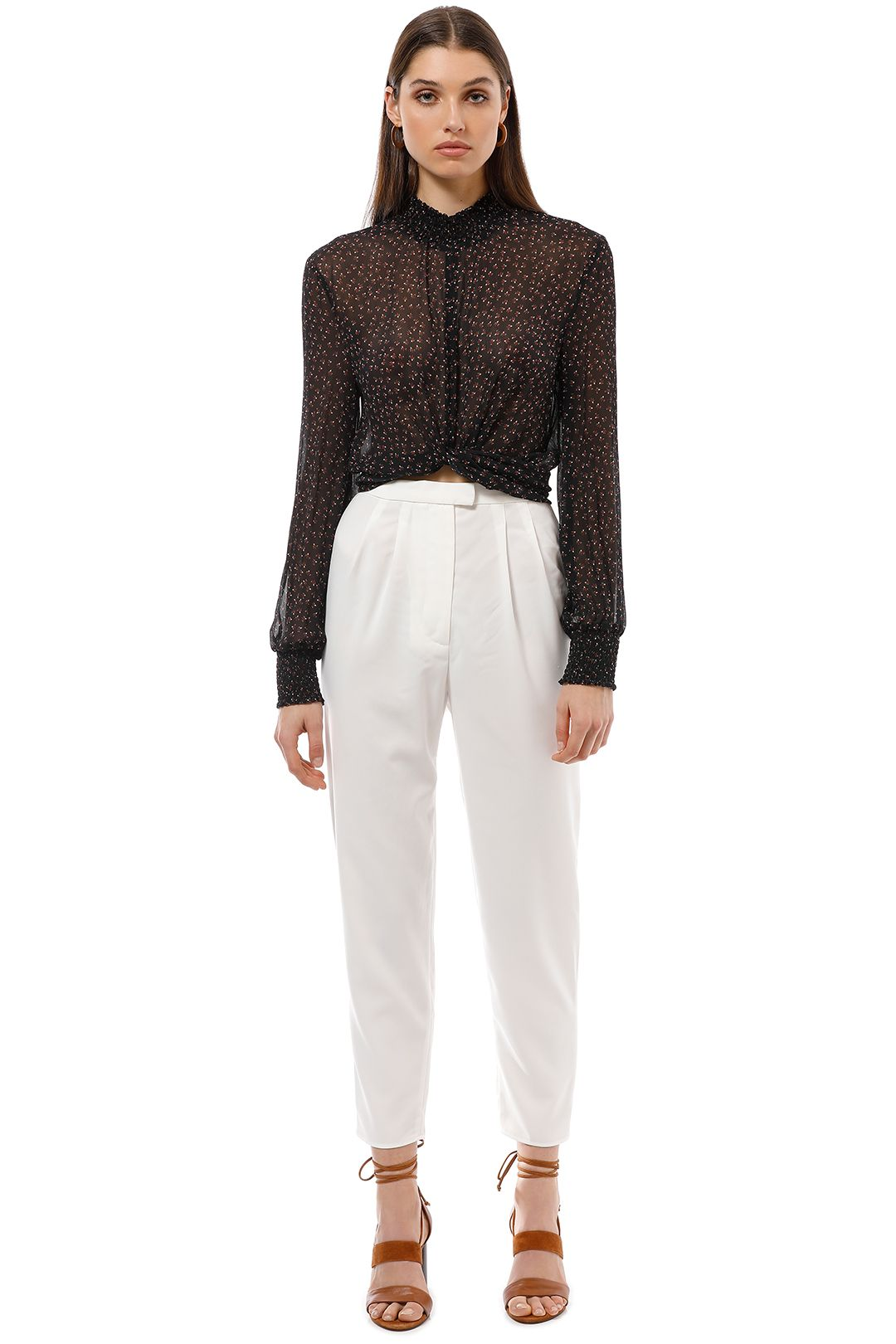 Keepsake the Label - Gone Again Pant - Ivory - Front