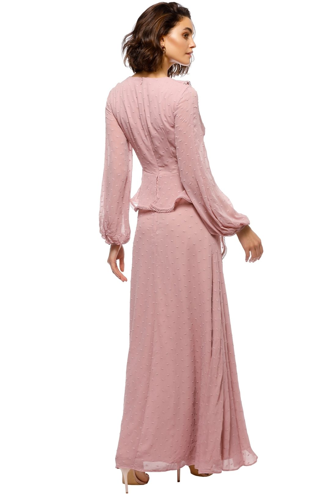 Keepsake the Label - Hideaway Gown - Pink - Back