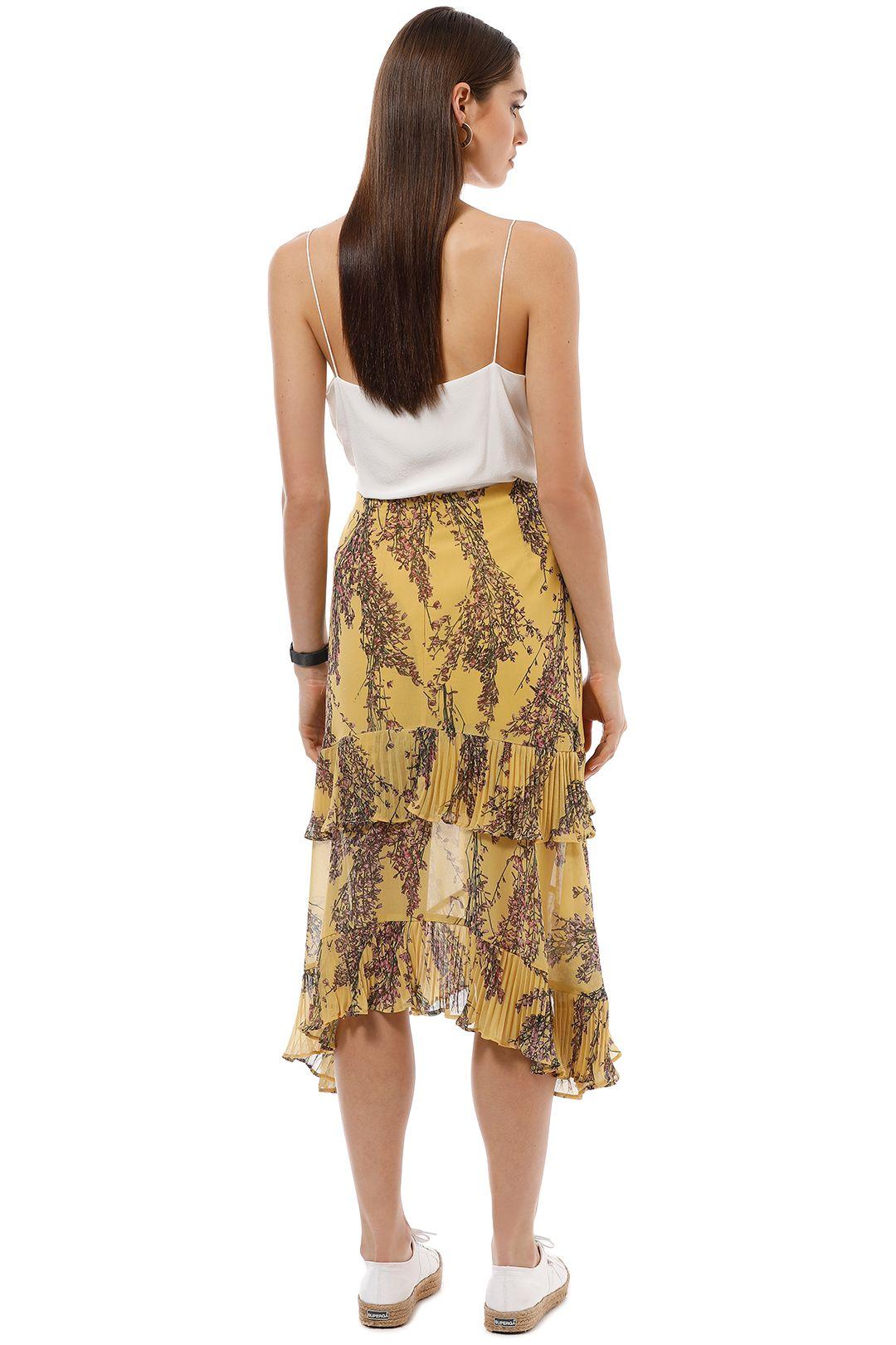 Keepsake the Label - Light Up Skirt - Golden Yellow - Back