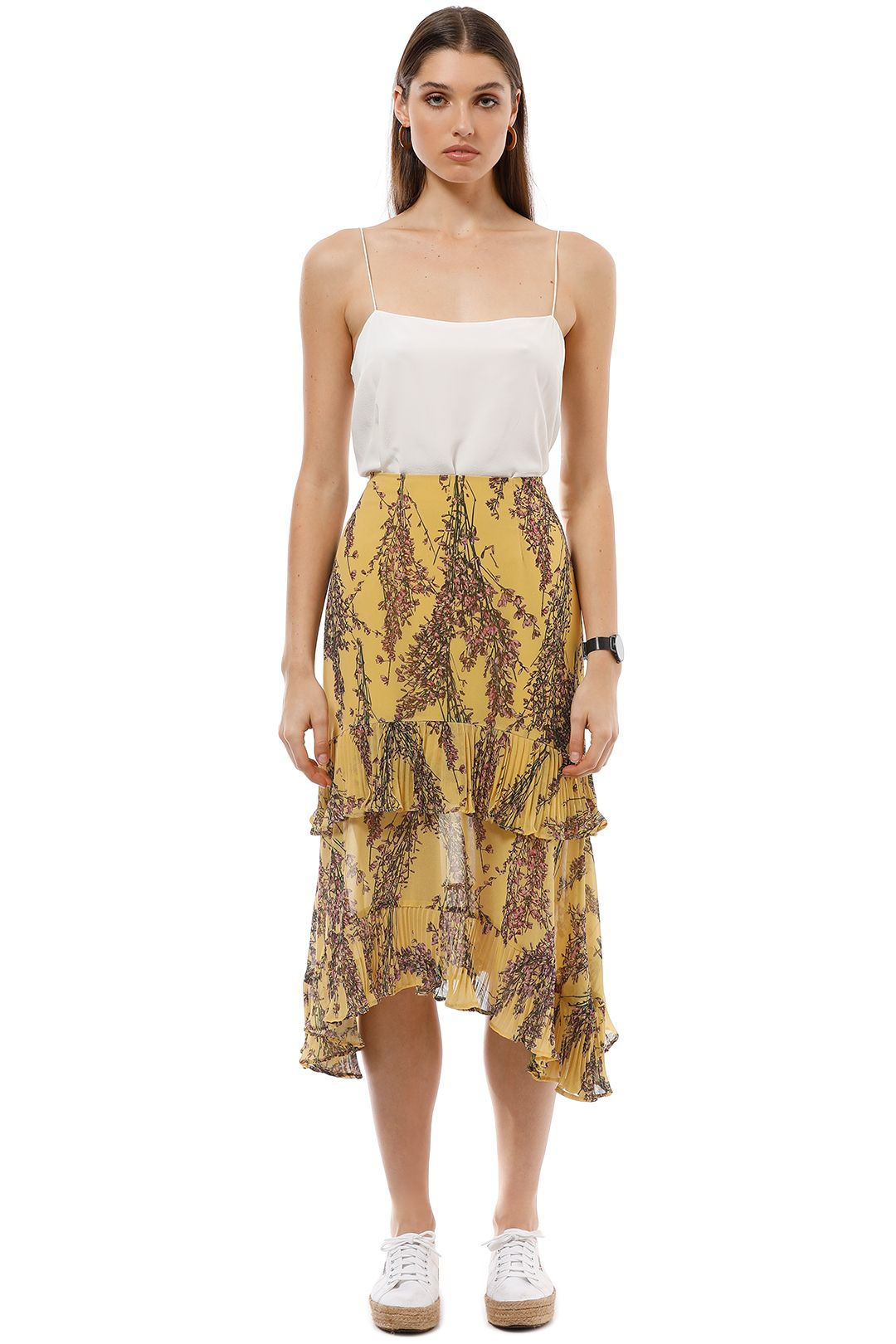 Keepsake the Label - Light Up Skirt - Golden Yellow - Front