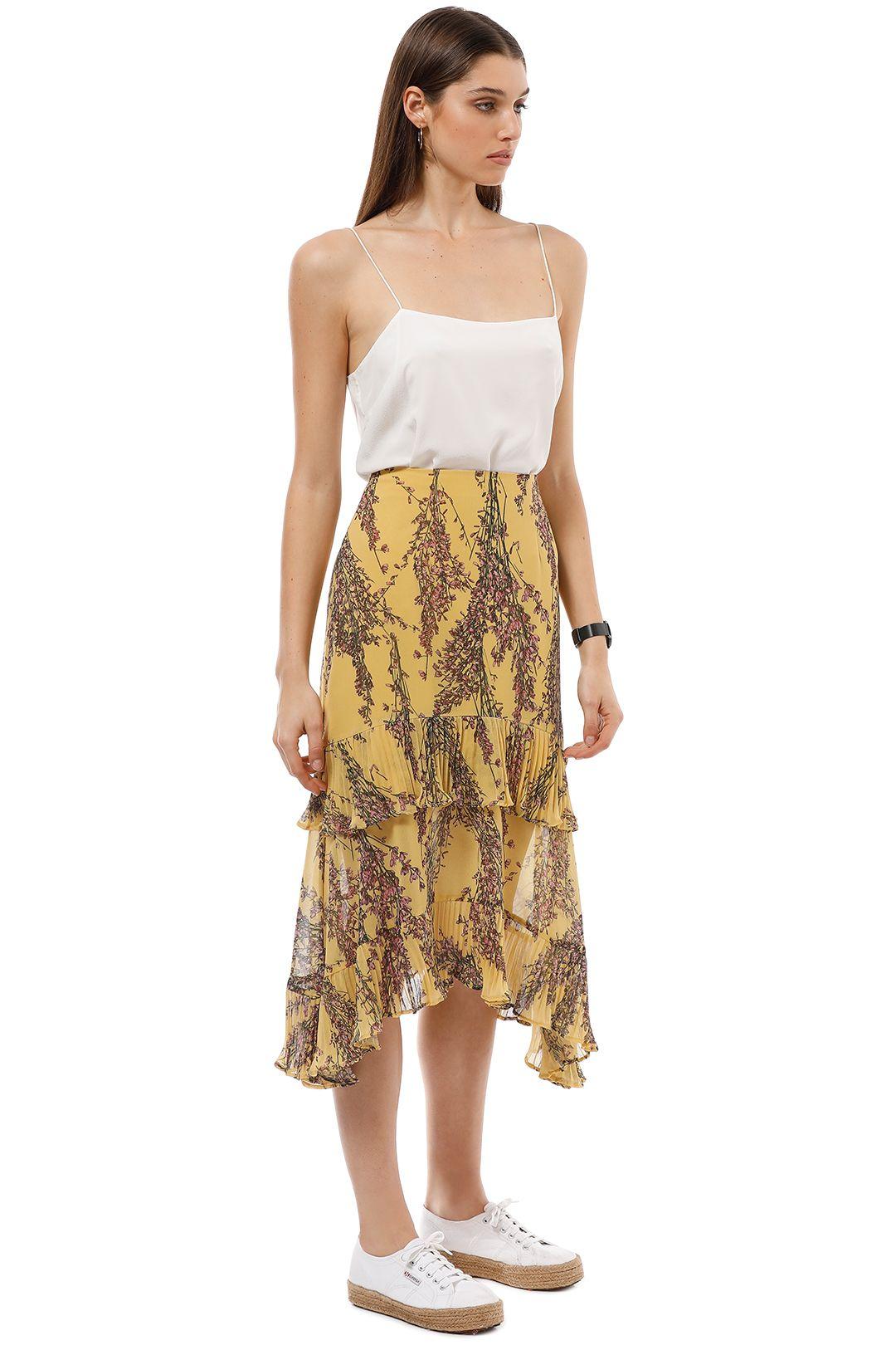 Keepsake the Label - Light Up Skirt - Golden Yellow - Side