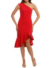 Keepsake the Label - Mirrors Dress - Red - Front