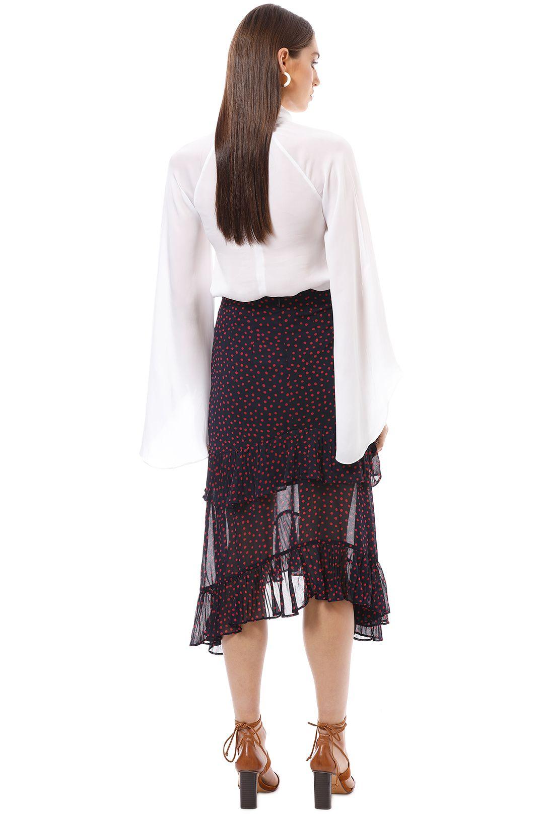 Keepsake the Label - Moonshine Skirt - Print - Back