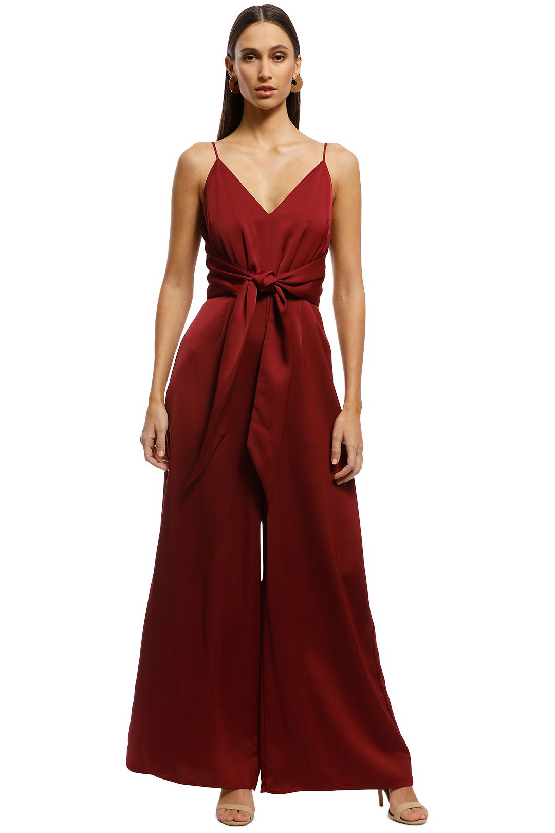 Keepsake The Label - Restore Jumpsuit - Berry - Front