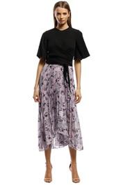Keepsake The Label - Unique Skirt - Lilac Floral - Front
