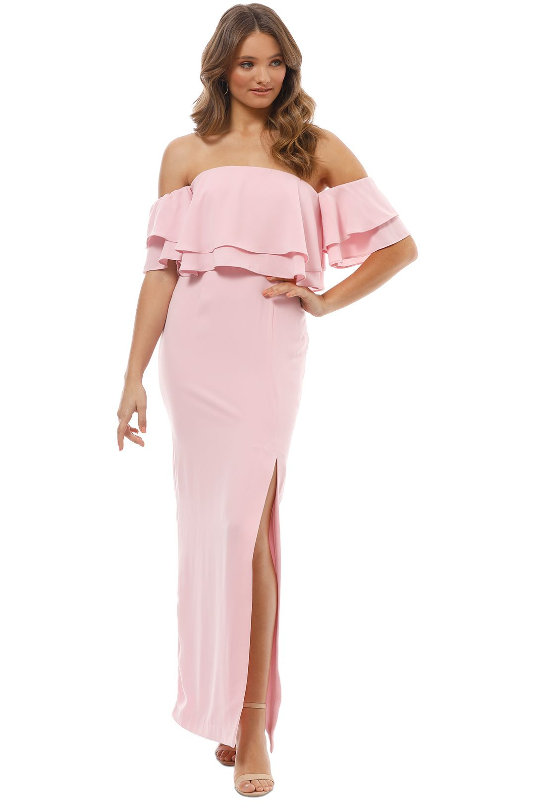 Keepsake the Label - Two Fold Gown - Blush Pink - Front