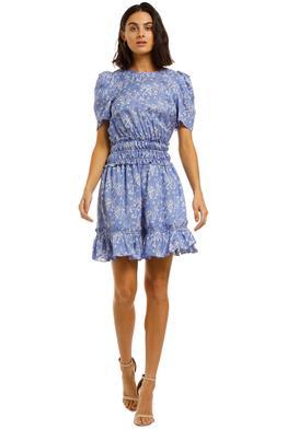 Kenzo-Soft-Flare-Smocking-Dress-Front