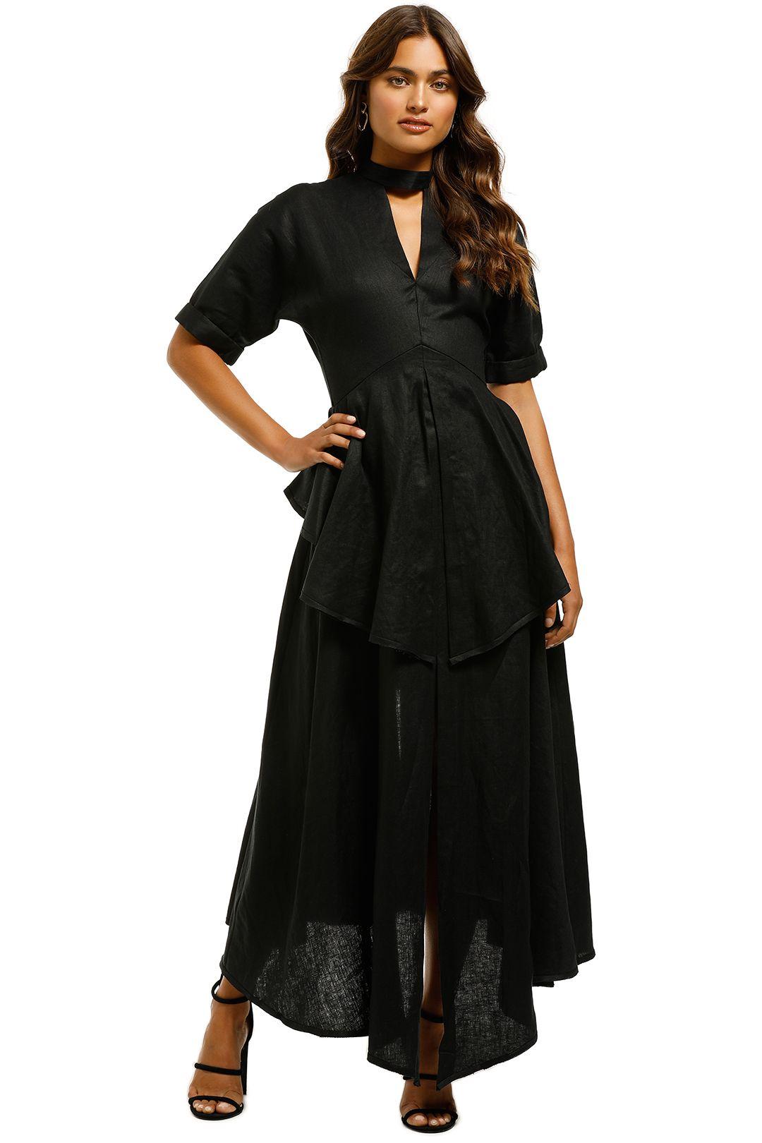 KITX-Anthropocene-Two-Way-Dress-Black-Front