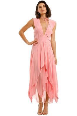 KITX-Elucidate-Puzzle-Dress-Pink-Front
