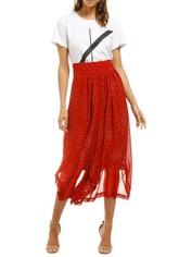 KITX-Galaxy-Waterfall-Skirt-Red-Front