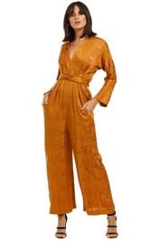 KITX-Slink-PJ-Jumpsuit-Rust-Front