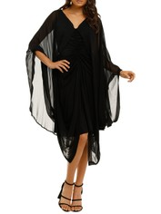 KITX-The-Fellowship-Cape-Drape-Black-Front