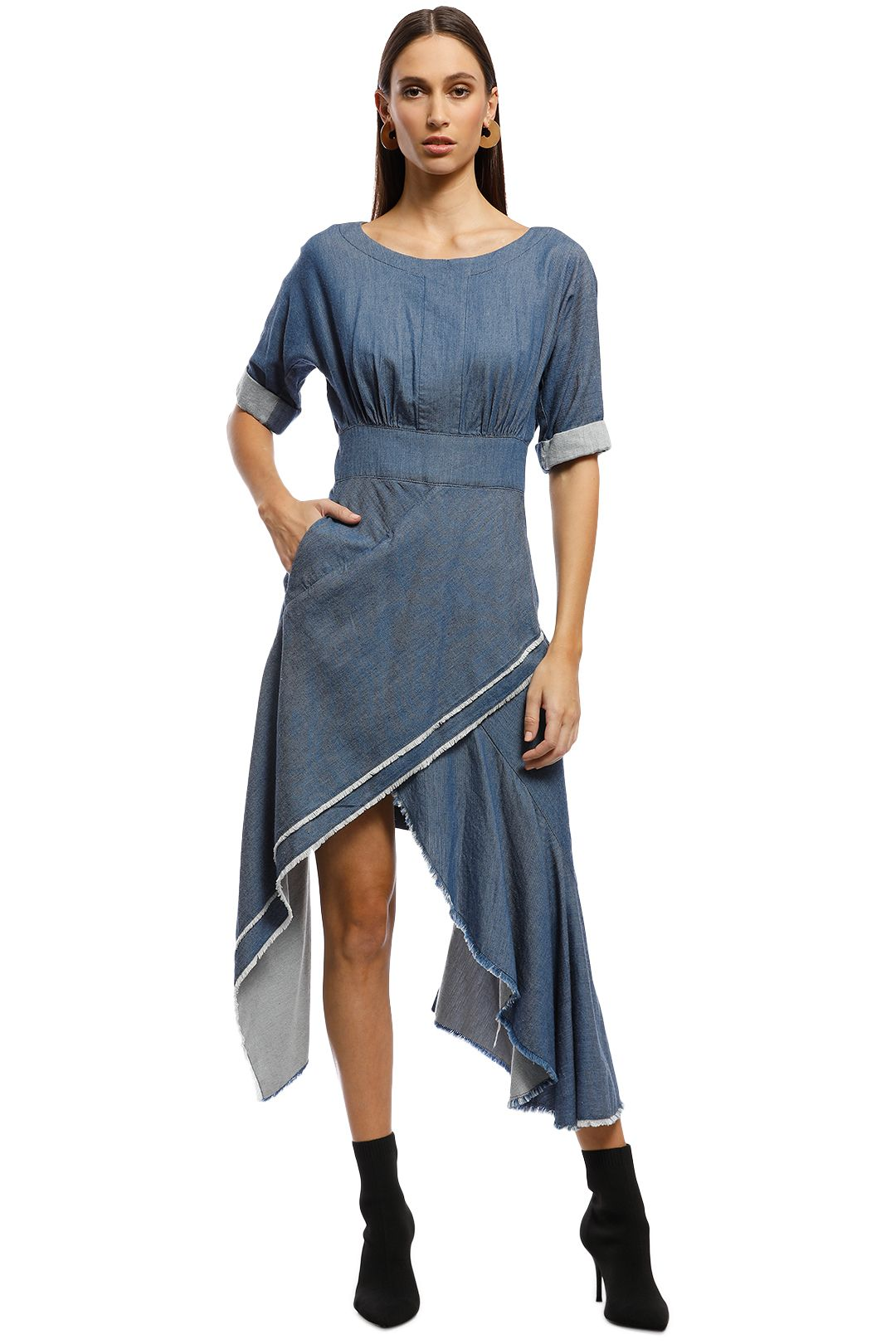 KITX - Compassionate Dress - Blue - Front