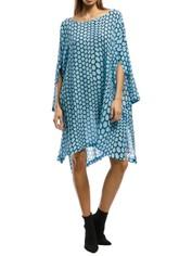 KITX - Rapture Rectangle Dress - Blue - Front