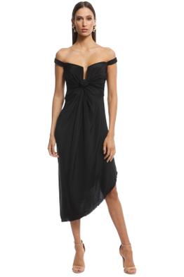 KITX - Return Corset Dress - Black - Front