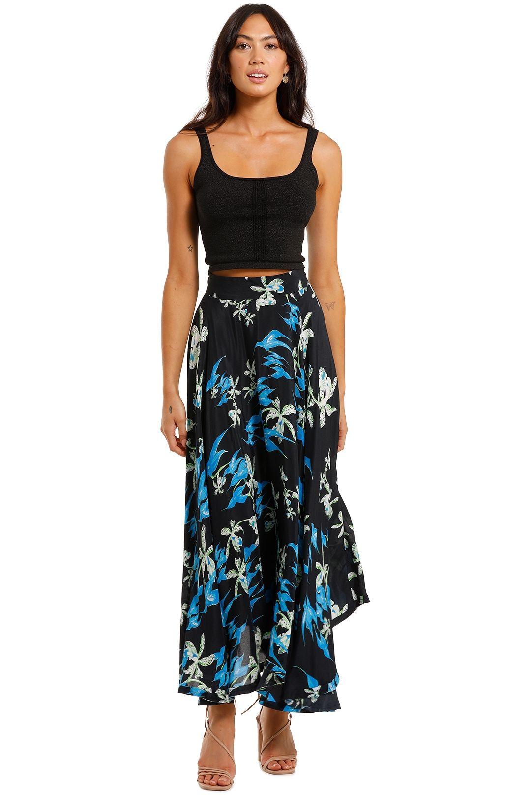KITX Circle Skirt floral