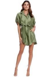 KITX Return Dress Moss Green Mini
