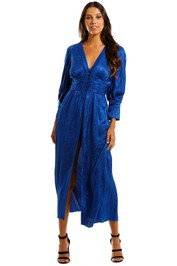 KITX Slinky Dress Blue Maxi Dress