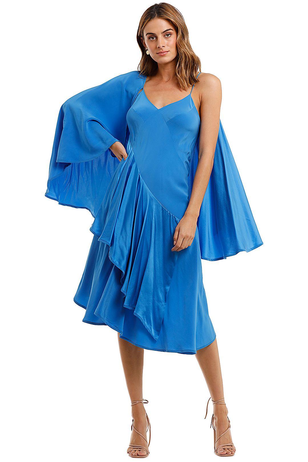 KITX Spiral Madness Dress blue