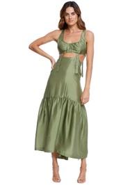 KITX Suspended Dress Moss Green