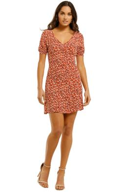 Kookai-Tallis-Mini-Dress-Multi-Front