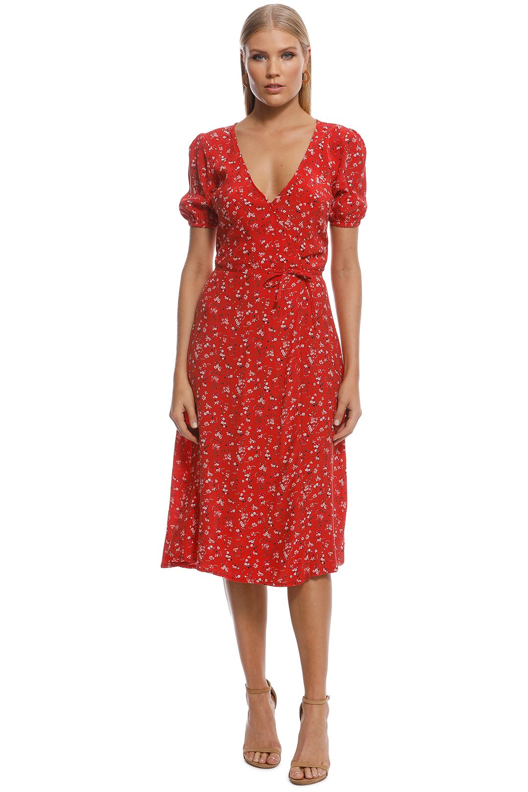 Kookai - Zariah Dress - Red - Front