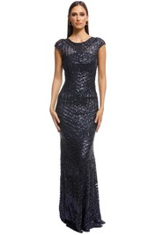 L'Amour - Grace Gown - Navy - Front