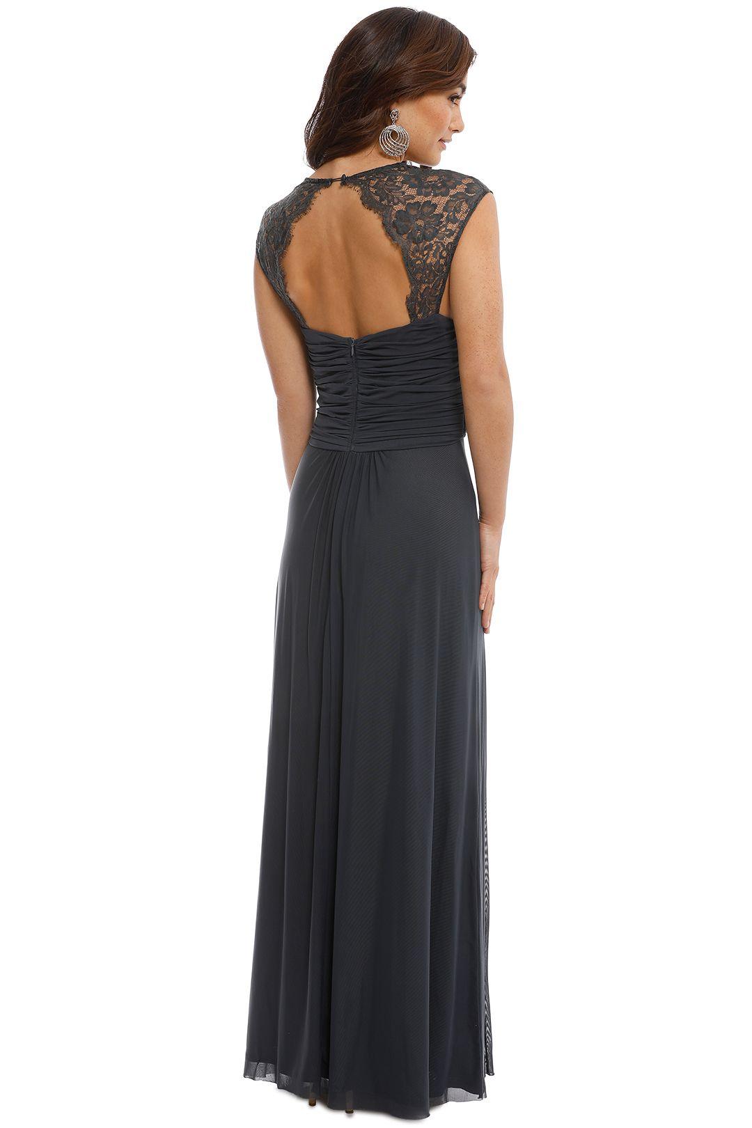 Langhem - Monet Gown - Grey - Back