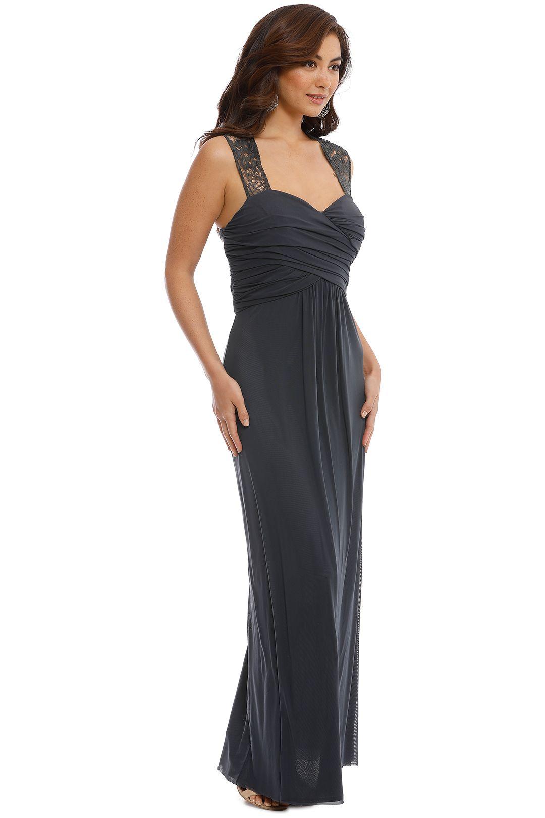 Langhem - Monet Gown - Grey - Side