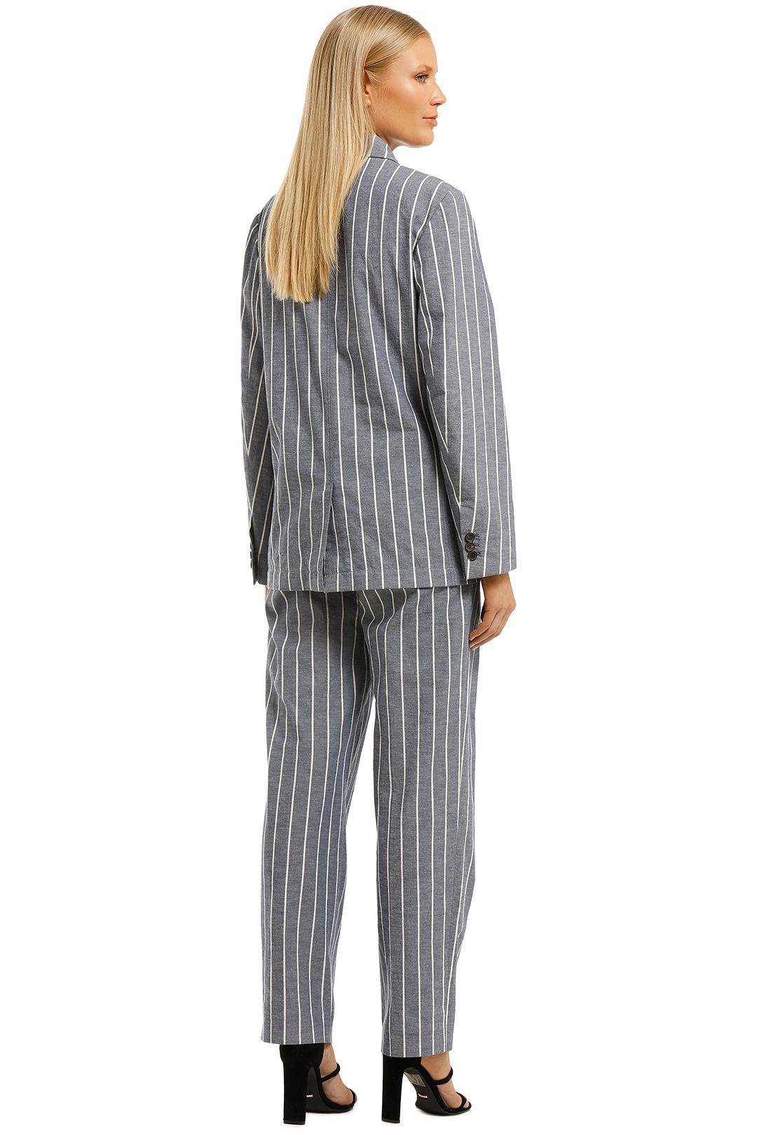 Laquintane-Double-Breasted-Jacket-and-Pant-Set-Indigo-Stripe-Back