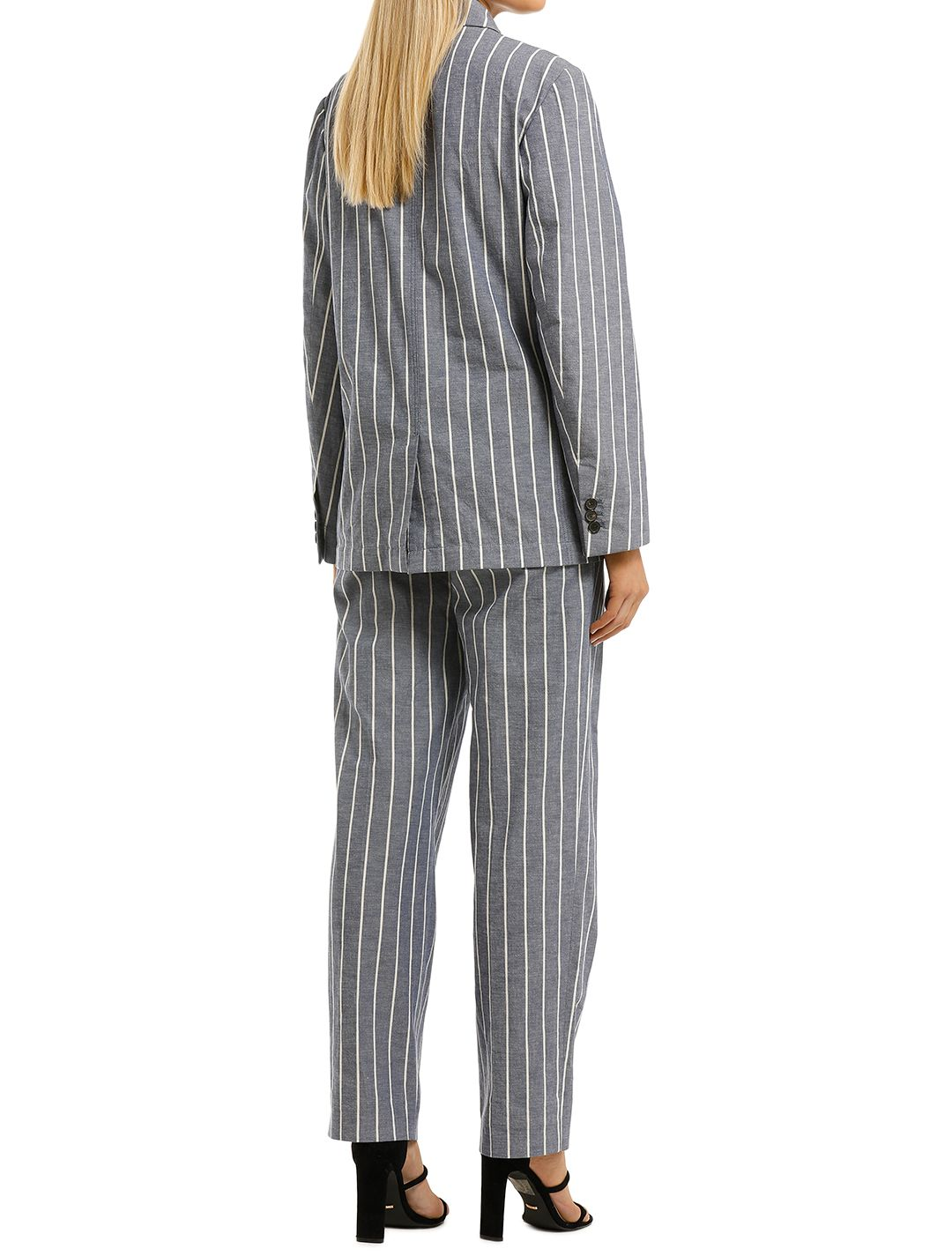 Laquintane-Double-Breasted-Jacket-and-Pant-Set-Indigo-Stripe-Back