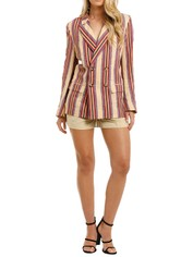 Laquintane-Double-Breasted-Jacket-and-Short-Set-Front