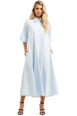 Lee-Mathews-Alice-Pocket-Shirt-Dress-Sky-Front