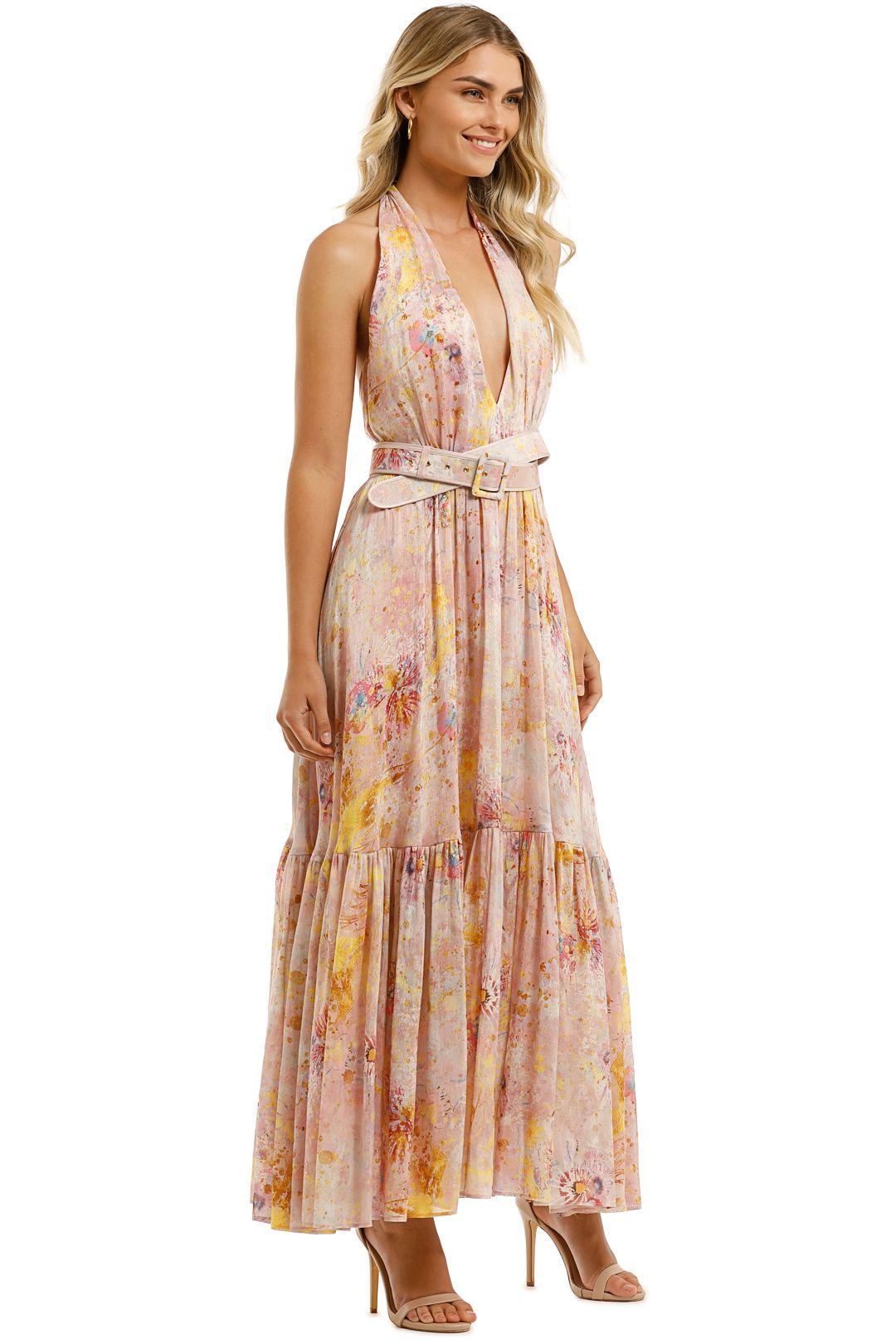 Leo-and-Lin-Adoration-Silk-Linen-Dress-Blush-Side