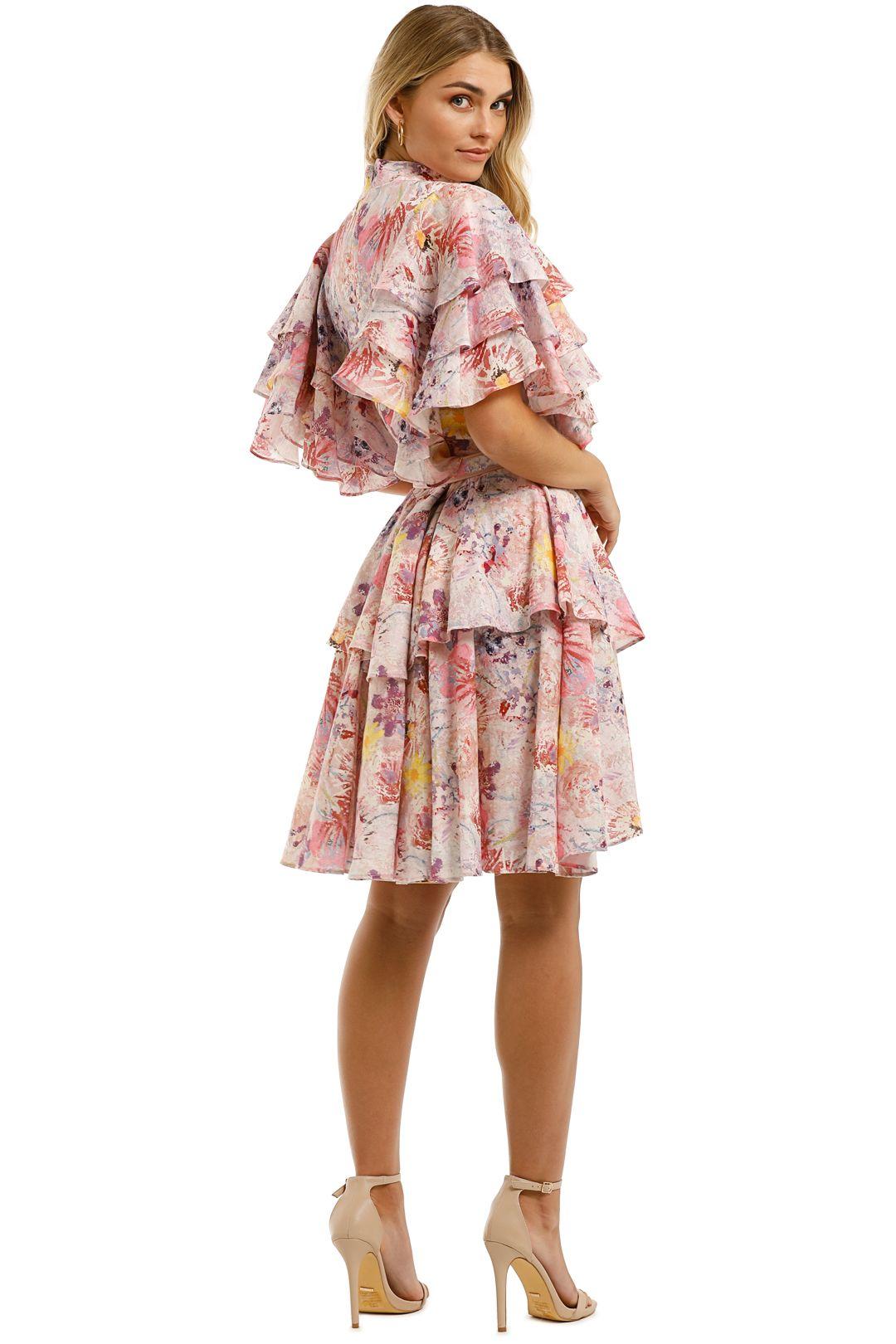Leo-and-Lin-Euphoria-Cotton-Linen-Ruffled-Mini-Dress-Blush-Back