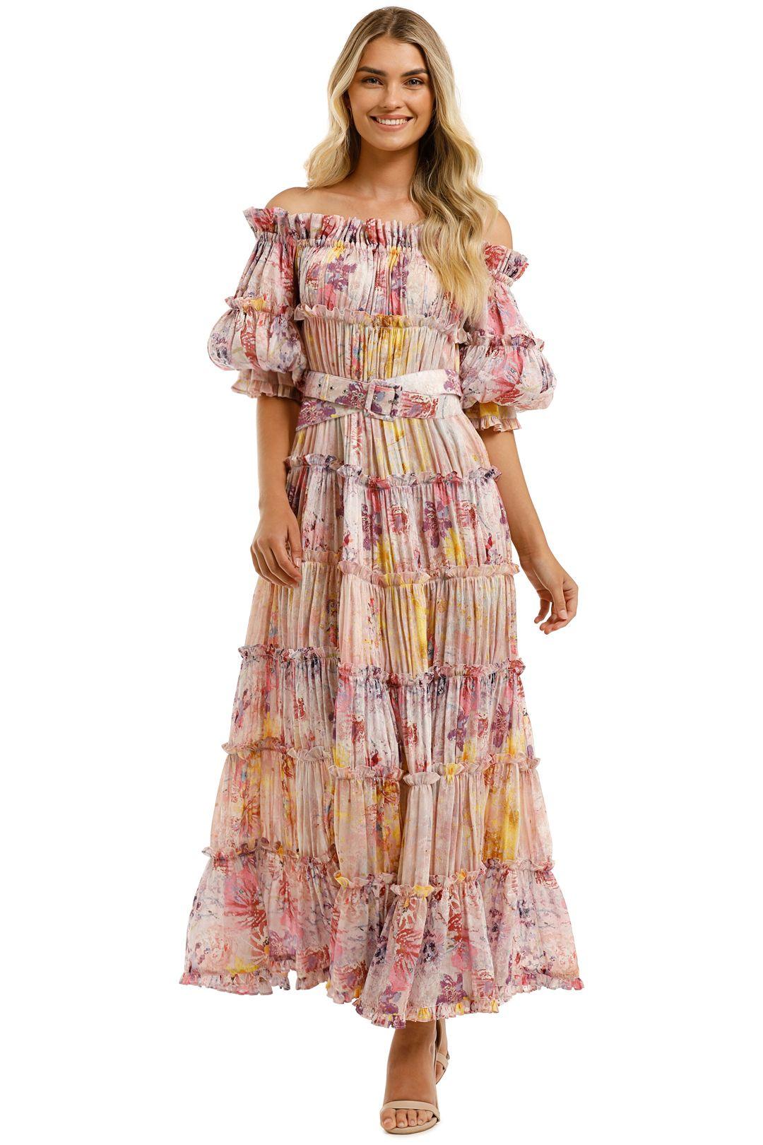Leo-and-Lin-Euphoria-Silk-Linen-Dress-Blush-Front