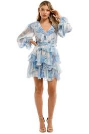 Leo-and-Lin-Oceania-Silk-Ruffled-Mini-Dress-Front